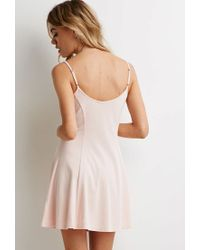 Forever 21 | Pink A-line Cami Dress | Lyst
