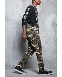Forever 21 | Black Camo Print Overalls for Men | Lyst