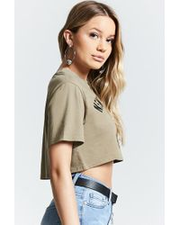 Forever 21 - Multicolor New York City Crop Top - Lyst