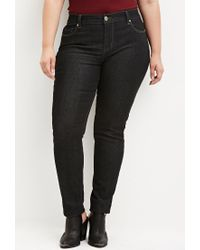 Forever 21 | Black Classic Skinny Jeans | Lyst