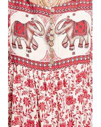 Forever 21 - Red Velzera Elephant Print Tunic - Lyst
