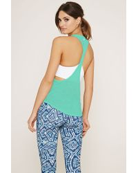 Forever 21 - Blue Active Space-dye Tank - Lyst