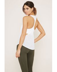 Forever 21 - White Active Space-dye Tank - Lyst