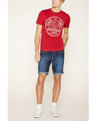 Forever 21 - Red Good Vibes Lake Graphic Tee for Men - Lyst