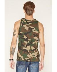 Forever 21 - Green Cayler And Sons Camo Tank for Men - Lyst