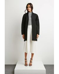 Forever 21 - Black The Fifth Label The Great Divide Coat - Lyst
