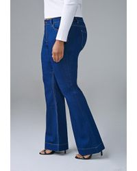 Forever 21 | Blue Classic Flared Jeans | Lyst