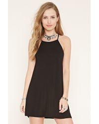 Forever 21 | Black Cami Mini Dress | Lyst