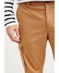 Forever 21 - Natural Cotton-blend Cargo Pants for Men - Lyst