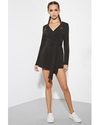 Forever 21 | Black The Fifth Label Just For Now Romper | Lyst