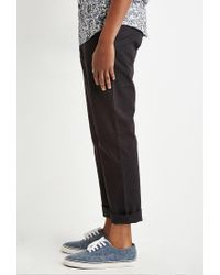 Forever 21 | Black Classic Chinos for Men | Lyst