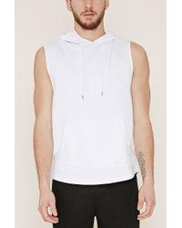 Forever 21 | White Cotton-blend Hoodie for Men | Lyst