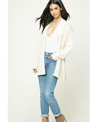 Forever 21   Natural Open-knit Cardigan   Lyst