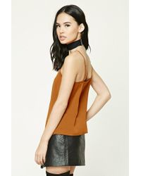 Forever 21 - Multicolor Satin Cami Top - Lyst