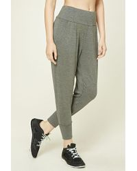 Forever 21   Gray Active Harem Pants   Lyst