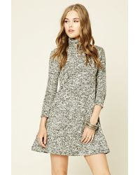 Forever 21 | Multicolor Marled Sweater Dress | Lyst