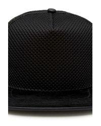 Forever 21 - Black Mesh Snapback Hat for Men - Lyst