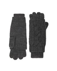 Forever 21 | Gray Cable-knit Gloves | Lyst