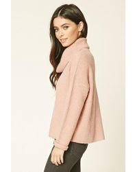 Forever 21 - Pink Cowl-neck Sweater - Lyst