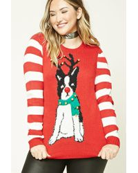Forever 21 | Red Plus Size Jingle-bell Sweater | Lyst