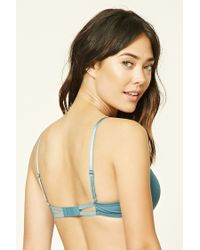 Forever 21 | Multicolor Strappy Crisscross Push-up Bra | Lyst