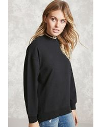 Forever 21 | Black Contemporary High-low Hem Top | Lyst