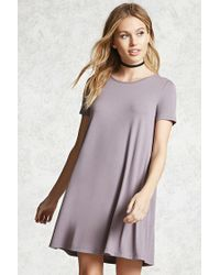 Forever 21 | Purple Contemporary T-shirt Dress | Lyst