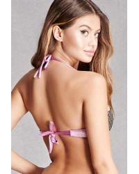 Forever 21 - Multicolor Margarita Mermaid Bikini Top - Lyst