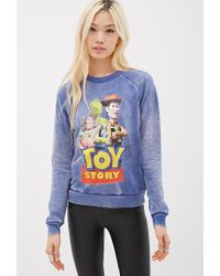 Forever 21 | Blue Toy Story Graphic Sweatshirt | Lyst