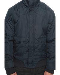 Forever 21 - Blue Faux Fur Lined Coat for Men - Lyst