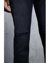 Forever 21 - Black 's Faded Wash Skinny Jeans for Men - Lyst