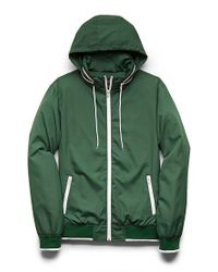 Forever 21 - Green Varsity-stripe Baseball Jacket for Men - Lyst