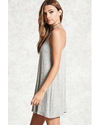 Forever 21 - Gray Women's Cami Swing Dress - Lyst