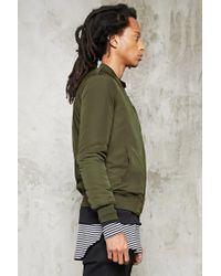 Forever 21 | Green D Patch Bomber Jacket for Men | Lyst