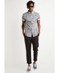 Forever 21 - Black Classic Chinos for Men - Lyst