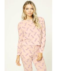 Forever 21 - Pink T-rex Pj Sweater - Lyst