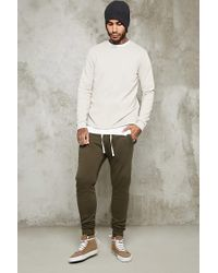 Forever 21 - Green Drawstring Sweatpants for Men - Lyst