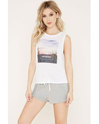 Forever 21 - Gray Make A Difference Pyjamas Set - Lyst