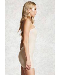 Forever 21 - Natural Shapewear Tube Slip - Lyst
