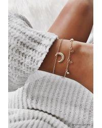 Forever 21 - Metallic Cosmic Charm Bracelet Set - Lyst