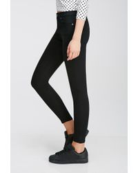 Forever 21 - Black Low-rise Skinny Jeans - Lyst