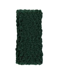 Forever 21 - Green Open-knit Oblong Scarf - Lyst