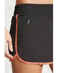 Forever 21 - Black Active Graphic Dolphin Shorts - Lyst