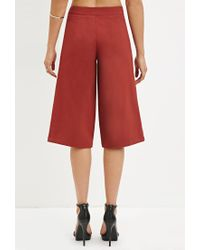 Forever 21 - Brown Classic Culottes - Lyst