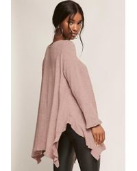 Forever 21 | Purple Ruffled Trapeze Top | Lyst