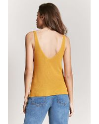 Forever 21 - Multicolor Sweater-knit Tank Top - Lyst