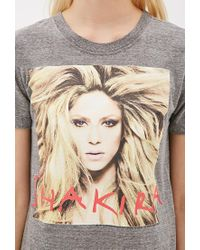 Forever 21 - Gray Shakira Graphic Tee - Lyst