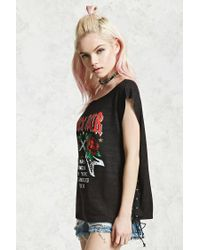 Forever 21 - Black Rock Tour Graphic Band Tee - Lyst