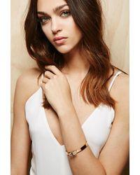 Forever 21 Pink Amber Sceats Translucent Bracelet
