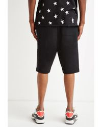 Forever 21 - Black Zip-pocket Sweatshorts for Men - Lyst